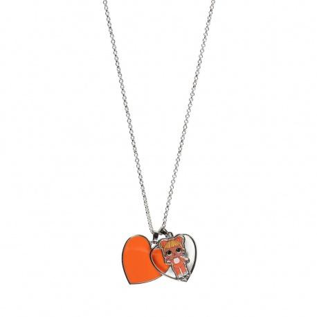 Dievčenský náhrdelník s príveskom L.O.L. Surprise Oranžový, 2500001118