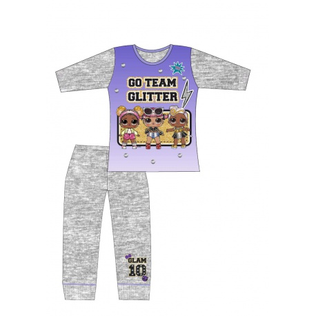 Dievčenské bavlnené pyžamo L.O.L. Surprise Glitter Team - 5 rokov (110cm)