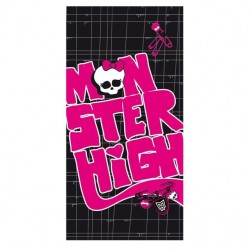 MONSTER HIGH ´BLACK VELVET´ - LUXUSNÁ OSUŠKA 75 x 150cm (3940)