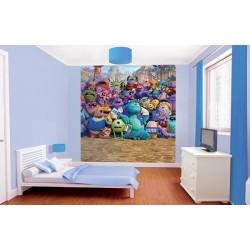 WALLTASTIC® Fototapeta MONSTERS UNIVERSITY 203 x 243cm (42803)