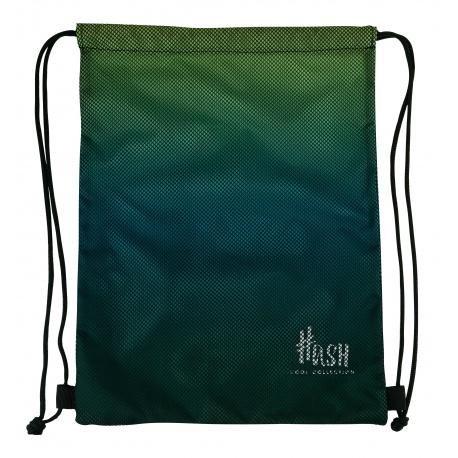 HASH® Športové vrecúško / taška na chrbát  Smoky Green, 507020037
