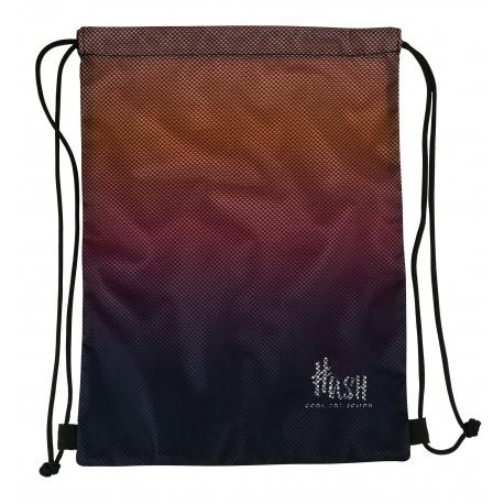 HASH® Športové vrecúško / taška na chrbát Smoky Purple, 507020038