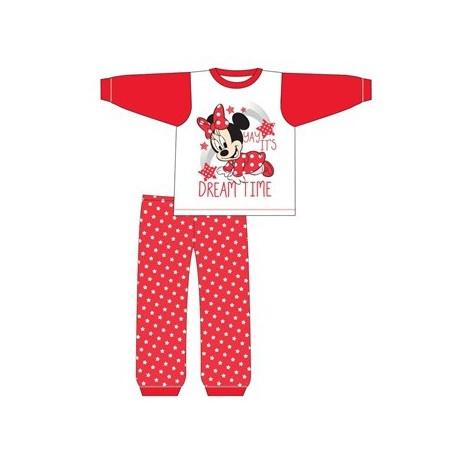 Dievčenské bavlnené pyžamo MINNIE MOUSE Dreamtime Baby - 6-9 mesiacov (74cm)
