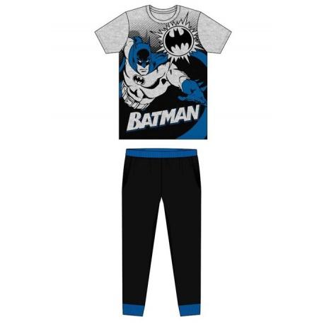 Pánske bavlnené pyžamo BATMAN Grey - L (large)