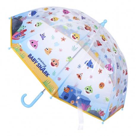 Detský dáždnik BABY SHARK Transparent, 2400000542