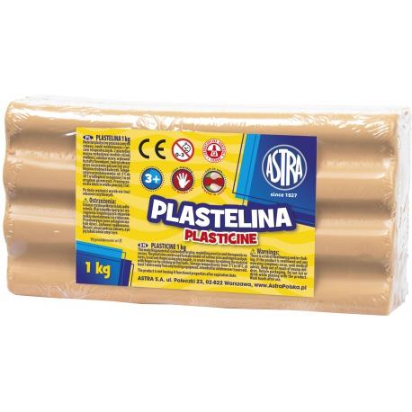 ASTRA Plastelína 1kg Telová, 303111003