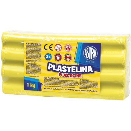 ASTRA Plastelína 1kg Citrónová žltá, 303111004
