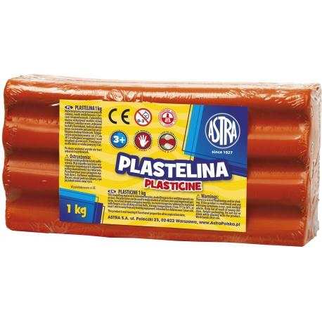 ASTRA Plastelína 1kg Červená, 303111006