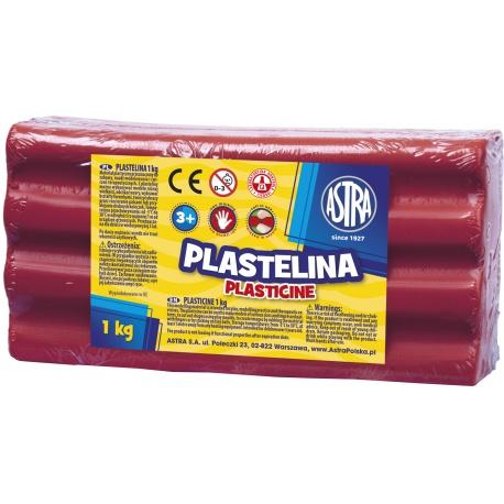 ASTRA Plastelína 1kg Ružová tmavá, 303111008