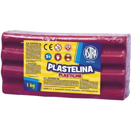 ASTRA Plastelína 1kg Purpurová, 303111009