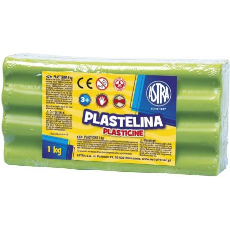ASTRA Plastelína 1kg Zelená svetlá, 303111017