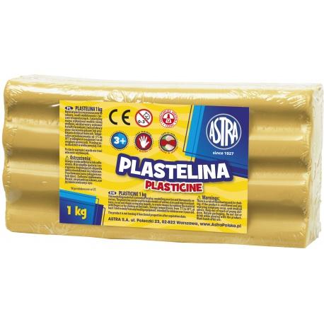 ASTRA Plastelína 1kg Hnedobéžová, 303111020