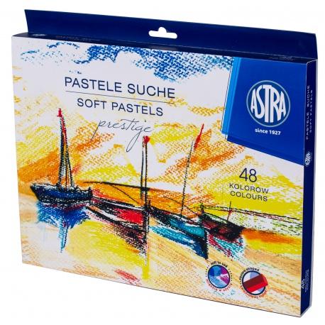 ASTRA Prestige, Suchý pastel hranatý 48ks, 323120004