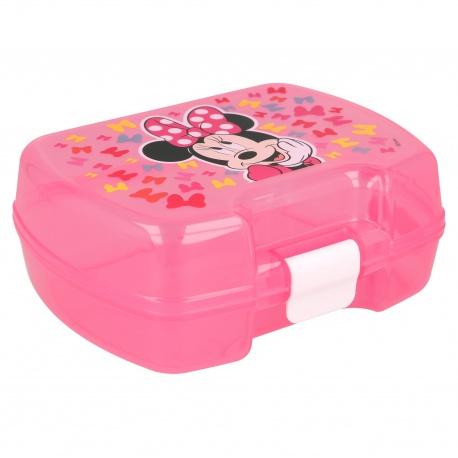 Plastový box na desiatu MINNIE MOUSE Butterfly Premium, 51127