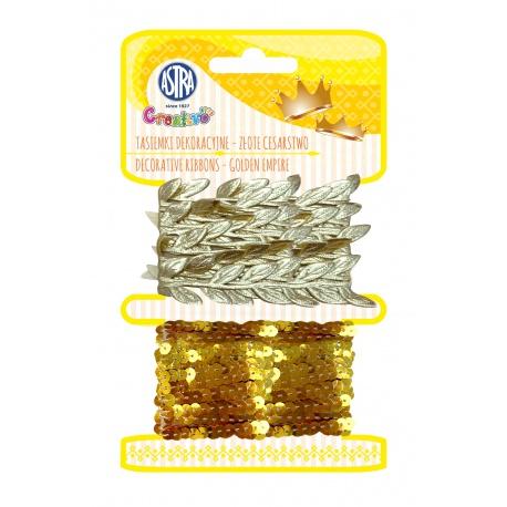 CREATIVO Dekoračné šnúrky GOLDEN EMPIRE, 2 x 2m, 335121001