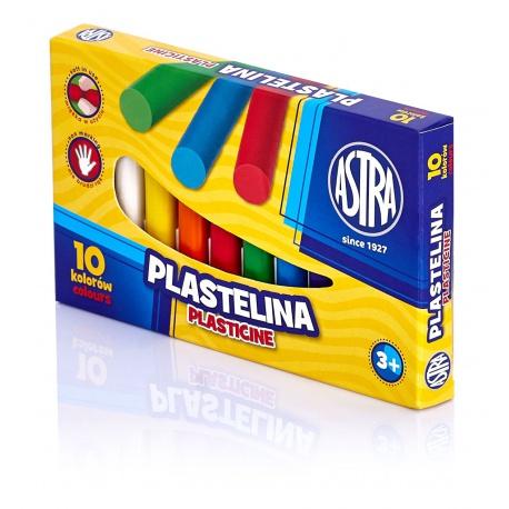 ASTRA Plastelína základná 10 farieb, 83812902