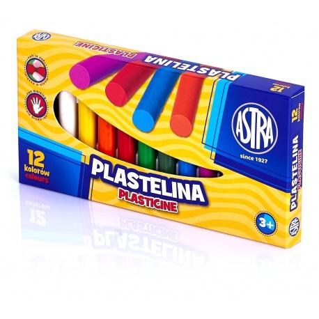 ASTRA Plastelína základná 12 farieb, 83813906