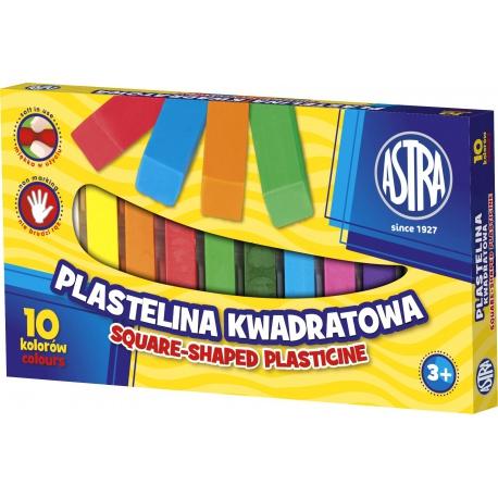 ASTRA Plastelína hranatá 10 farieb, 303115006