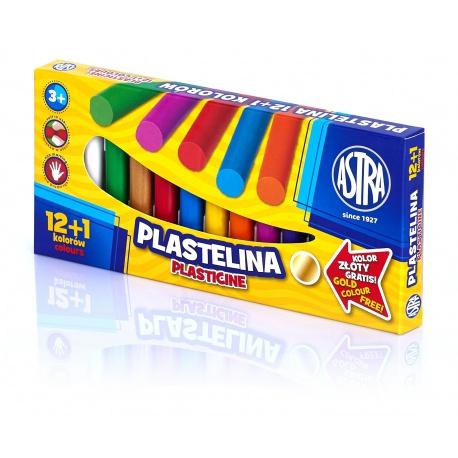 ASTRA Plastelína základná 12 farieb + 1 grátis, 303115007