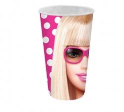 Plastový 3D pohár BARBIE 500ml (9095)