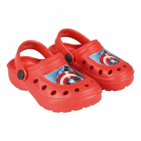 Detské sandále AVENGERS červené, 2300004303 - 24/25