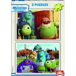 MONSTERS UNIVERSITY - PUZZLE 2 x 48ks (6104)