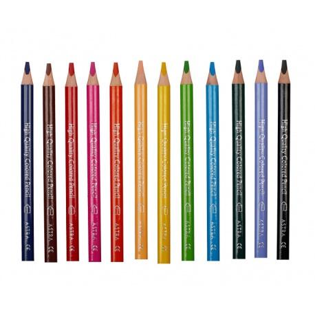 ASTRA Trojhranná farbička JUMBO Žltá 1ks, 312117012