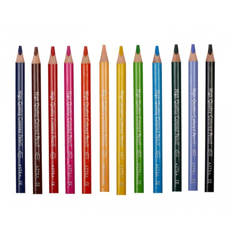 ASTRA Trojhranná farbička JUMBO Čierna 1ks, 312117015