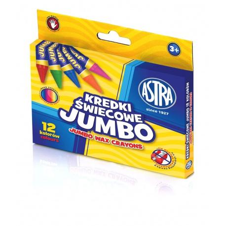 ASTRA Voskové farbičky Jumbo 12ks, 316118005