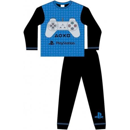 Chlapčenské bavlnené pyžamo PLAYSTATION - 10 rokov (140cm)
