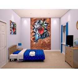 DINOSAUR ROAR - WALLTASTIC® 3D FOTOTAPETA 240 x 150cm (3039)