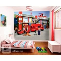 WALLTASTIC® Fototapeta POSTMAN PAT 243 x 304cm (40304)