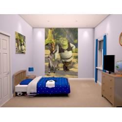SHREK - WALLTASTIC® 3D FOTOTAPETA 240 x 150cm (3084)