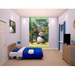 KUNG FU PANDA - WALLTASTIC® 3D FOTOTAPETA 240 x 150cm (3107)