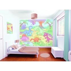 WALLTASTIC® Fototapeta BABY DINOSAURY 243 x 304cm (40618)