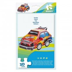 BAGGY ´CAR´ - 3D PUZZLE 10ks (3813)