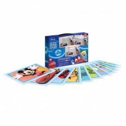 WALLTASTIC® Dekoračné samolepky DISNEY Koláž modrá 64ks (43169)