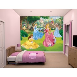 DISNEY PRINCESS - WALLTASTIC® 3D FOTOTAPETA (3800)