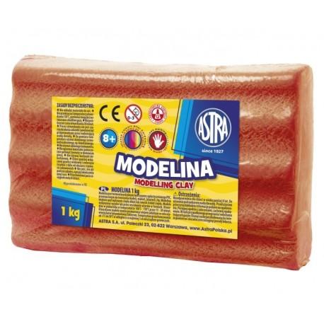 ASTRA Modelovacia hmota do rúry MODELINA 1kg Červená, 304111009