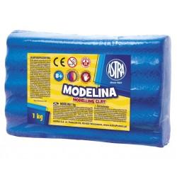 ASTRA Modelovacia hmota do rúry MODELINA 1kg modrá (304111010)