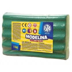ASTRA Modelovacia hmota do rúry MODELINA 1kg tmavozelená (304111008)