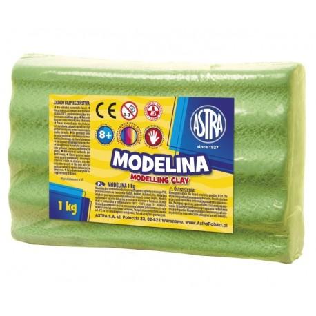 ASTRA Modelovacia hmota do rúry MODELINA 1kg Svetlozelená, 304111005