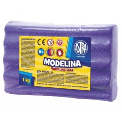ASTRA Modelovacia hmota do rúry MODELINA 1kg fialová (304111003)
