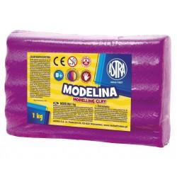 ASTRA Modelovacia hmota do rúry MODELINA 1kg ružová (304111004)