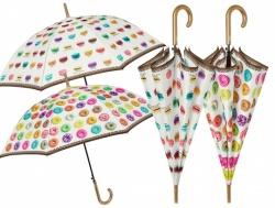 Luxusný dámsky automatický dáždnik PERLETTI ´DONUTS´ (8348)