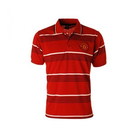 Chlapčenské bavlnené POLO tričko MANCHESTER UTD - 6 rokov (116cm)
