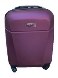 ABS cestovný kufor LOW COST 52x38x20cm fialový