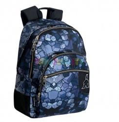 Dvojkomorový školský batoh CAMPRO 43cm (7554)