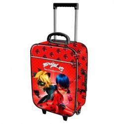 Detský cestovný kufor na kolieskach KÚZELNA LIENKA (5225)