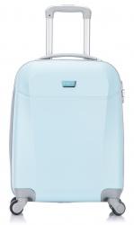 ABS cestovný kufor LOW COST 52x38x20cm tmavomodrý